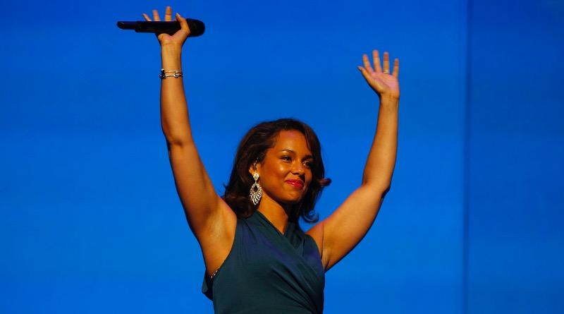 Alicia Keys a présenté