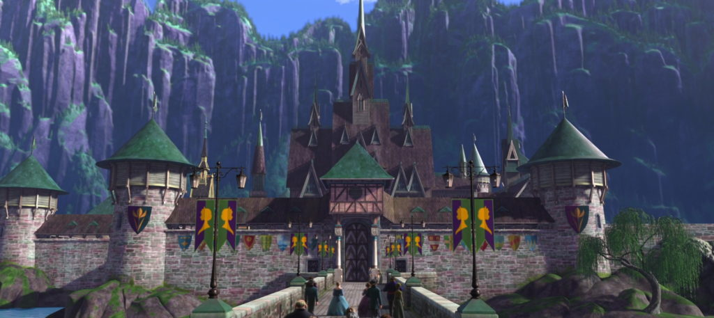Arendelle Castle Disney Frozen