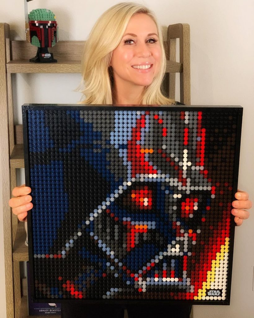 Ashley Eckstein LEGO Art