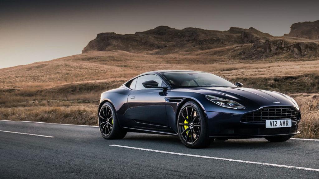 Aston Martin website press shot