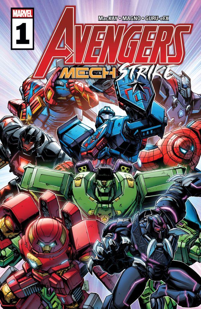 Avengers Mech Strike Marvel cover 1
