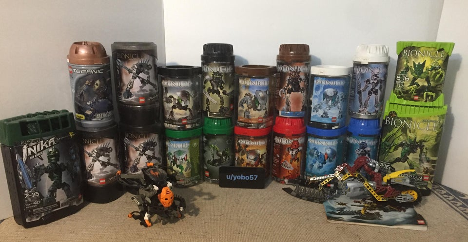 BIONICLE canisters
