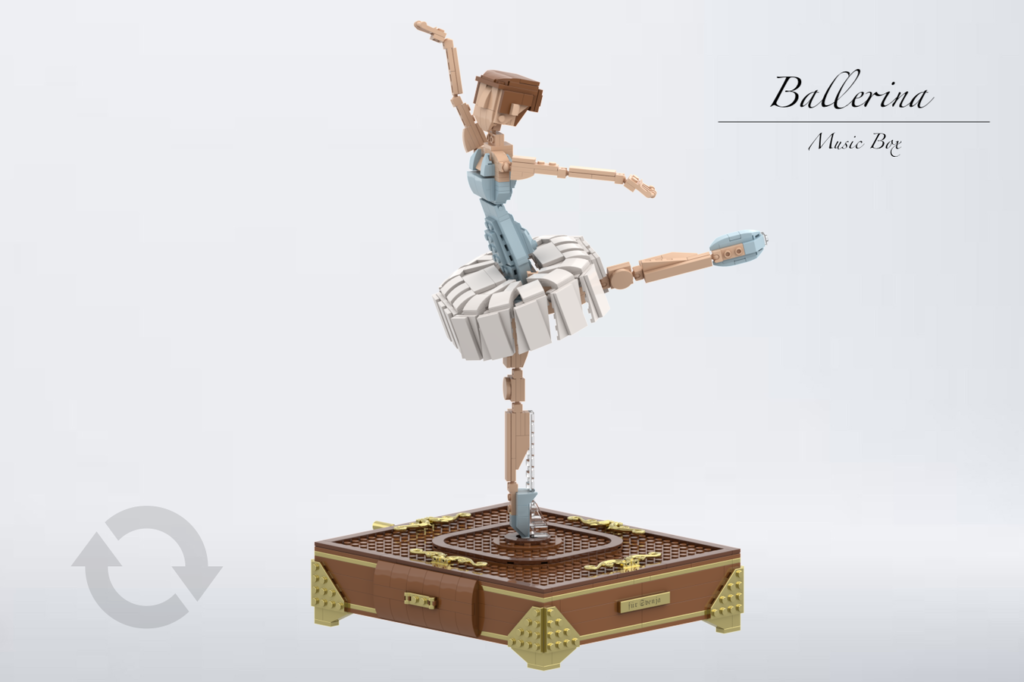 Ballerina With Power UP Function By Sebastian97