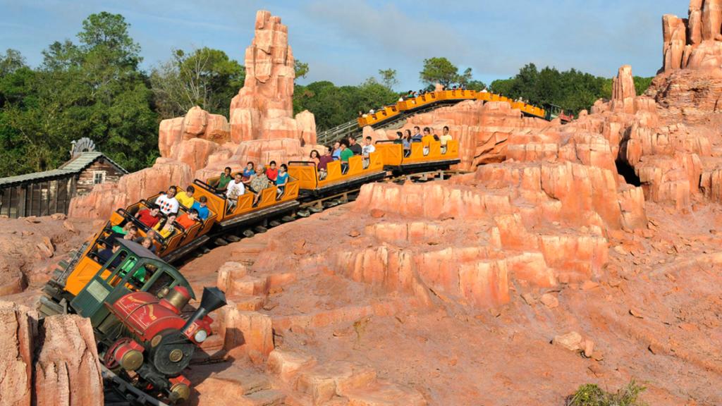Big thunder Mountain Disney World