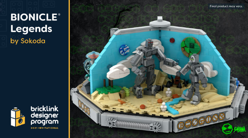 Bionicle Legends BrickLink Designer Program featured