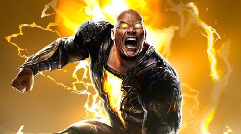Black Adam DC FanDome first look featured