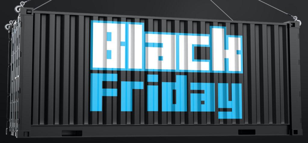 Black Friday 1 LEGO Brick Fanatics Container Crop