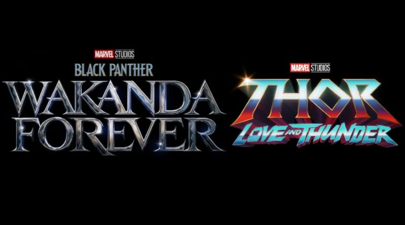 Black Panther Wakanda Forever Thor Love and Thunder logo featured