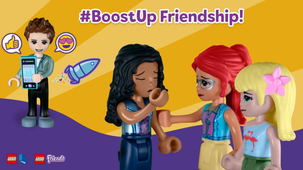 BoostUp Friendship