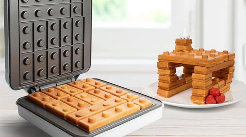 Brick Building Waffle Maker