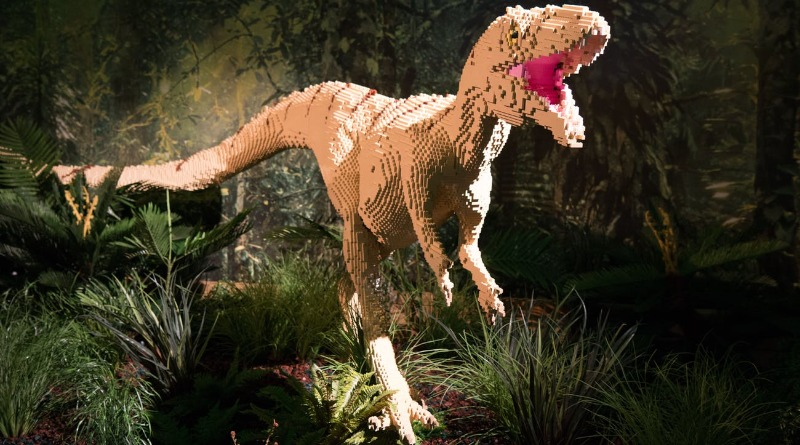 Come face to face with LEGO-saurs at a special exhibition