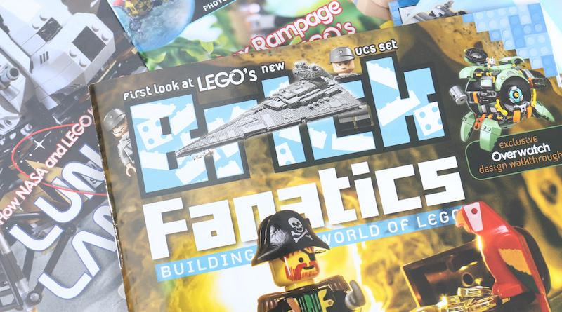 Brick Fanatics ჟურნალი გამოდის 1 – დან 12 – მდე სათაური