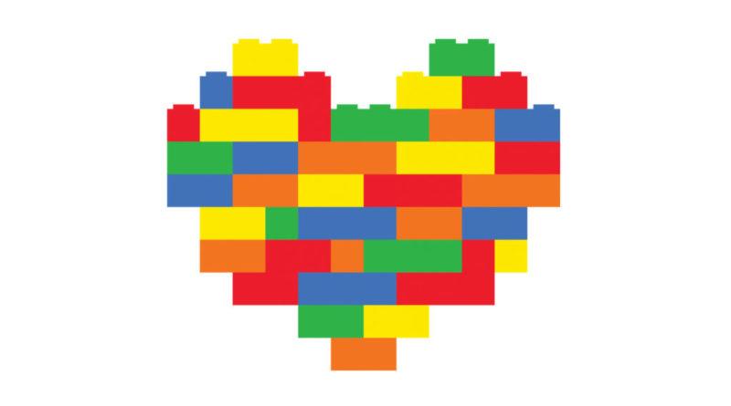 Brick hearts