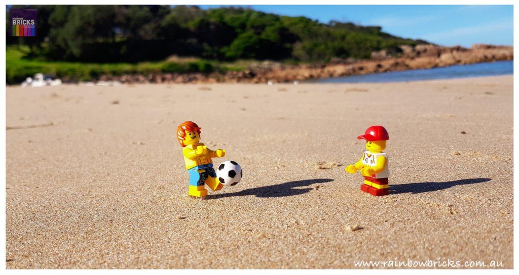 Brick Pic Beach Ball