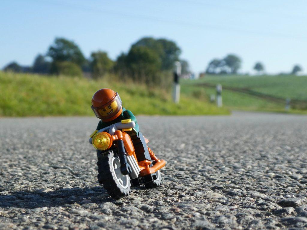 Brick Pic Biker