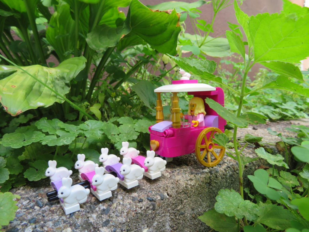 Brick Pic Bunny Carriage