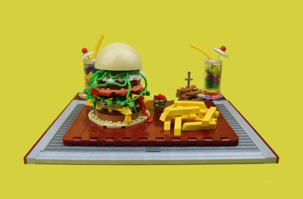 Brick Pic Burger