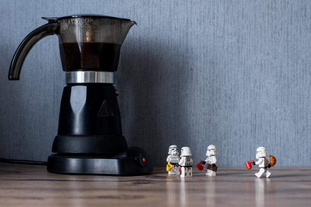 Brick Pic Coffee Time