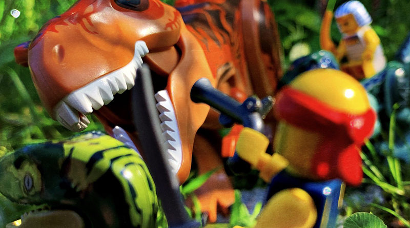 Brick Pic of the Day: Prehistoric beasts