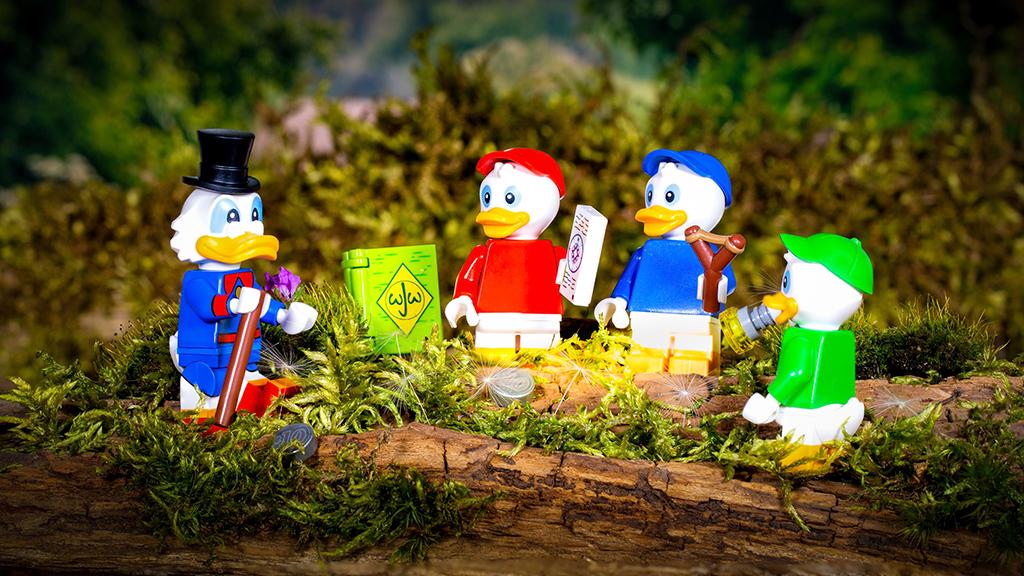 Brick Pic Duck Tales