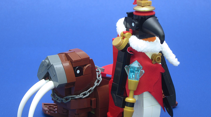 Brick Pic Emperor Penguin Featured
