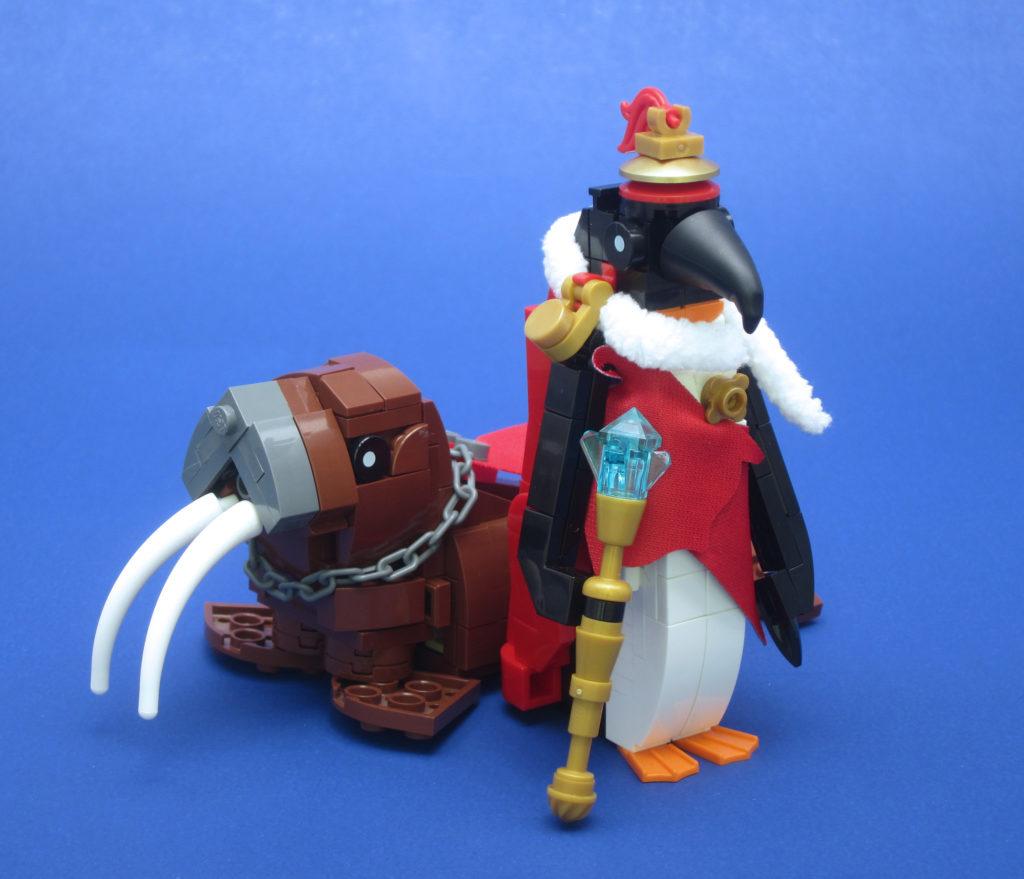 Brick Pic Emperor Penguin