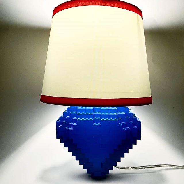Brick Pic Heart Lamp