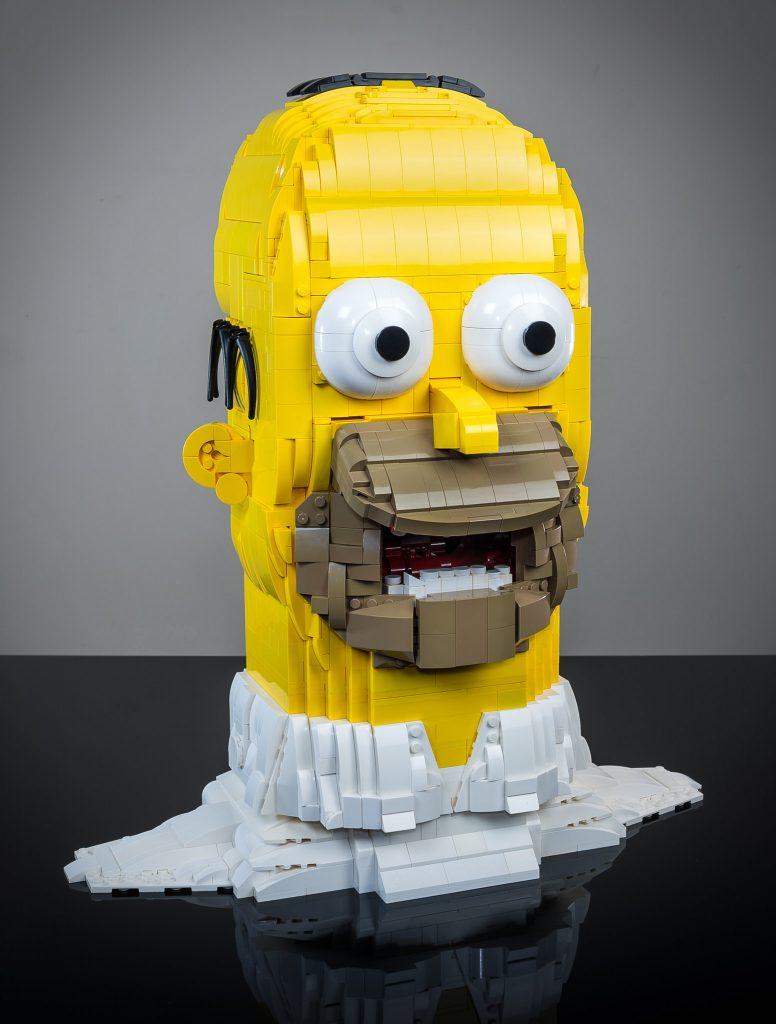 Brick Pic Homer