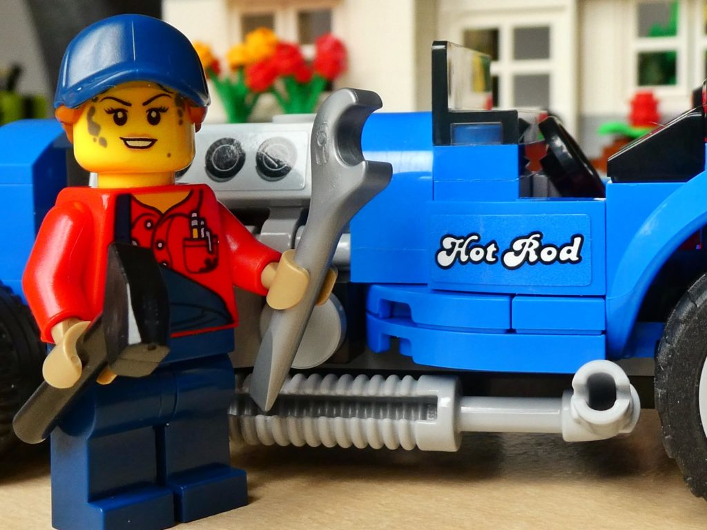 Brick Pic Hot Rod