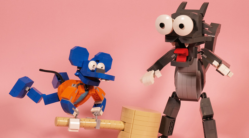Brick Pic Itchy Scratchy Featured