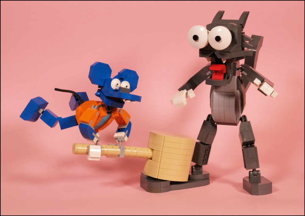 Brick Pic Itchy Scratchy