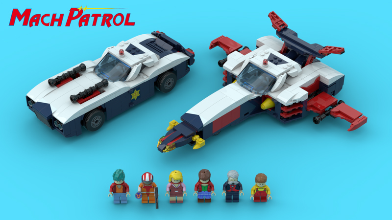 Brick Pic Mach Patrol