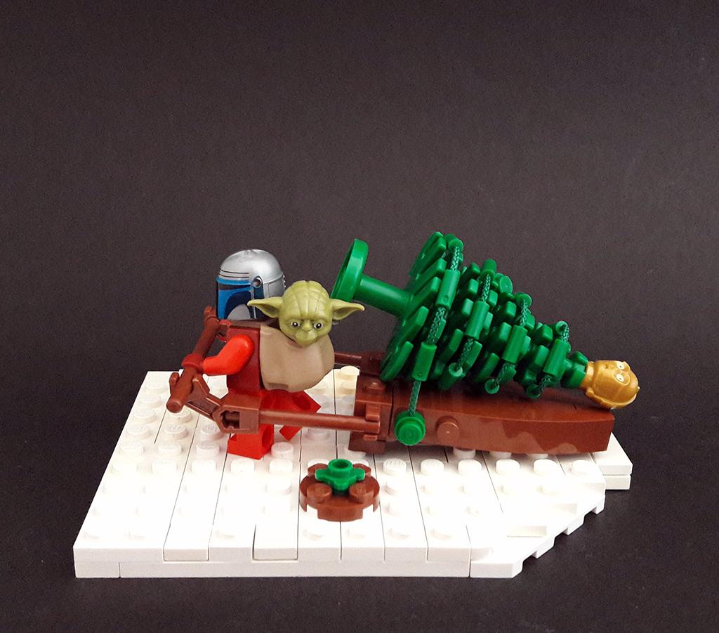 Brick Pic Mandalorian Christmas