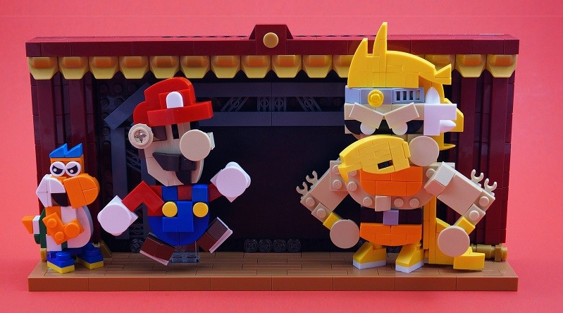 Brick Pic of the Day: Paper Mario