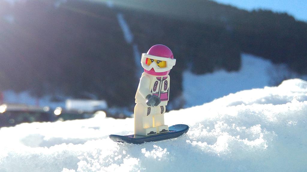 Brick Pic Snowboarder
