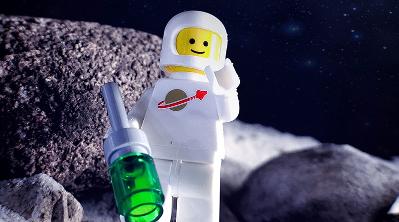 Brick Pic Space Man Moon Featured