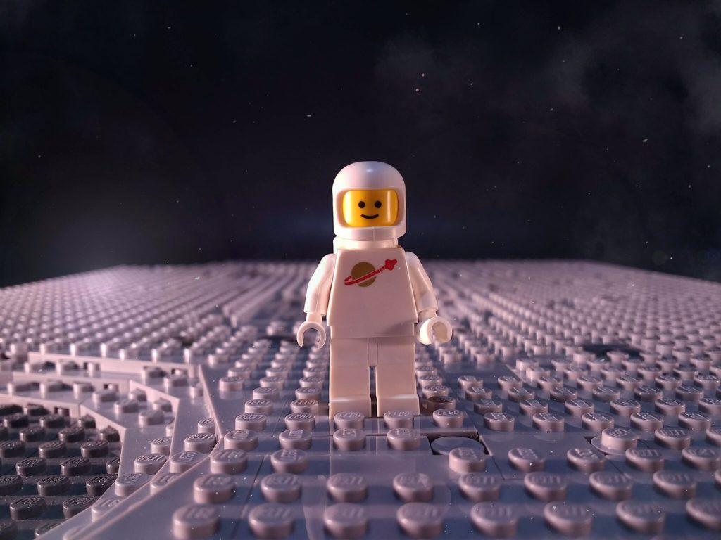 Brick Pic Spaceman 1