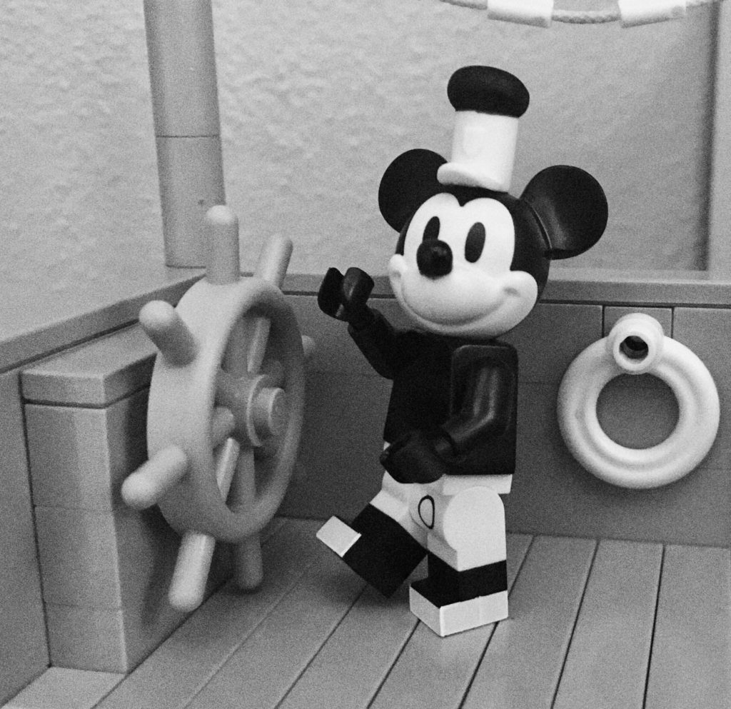 Brick Pic Steamboat Willie