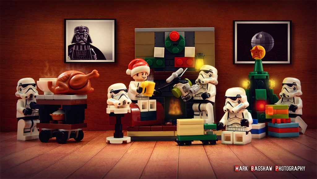 Brick Pic Stormtrooper Christmas