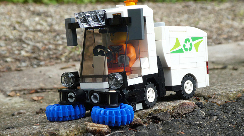 Brick Pic Street Sweeper Featured