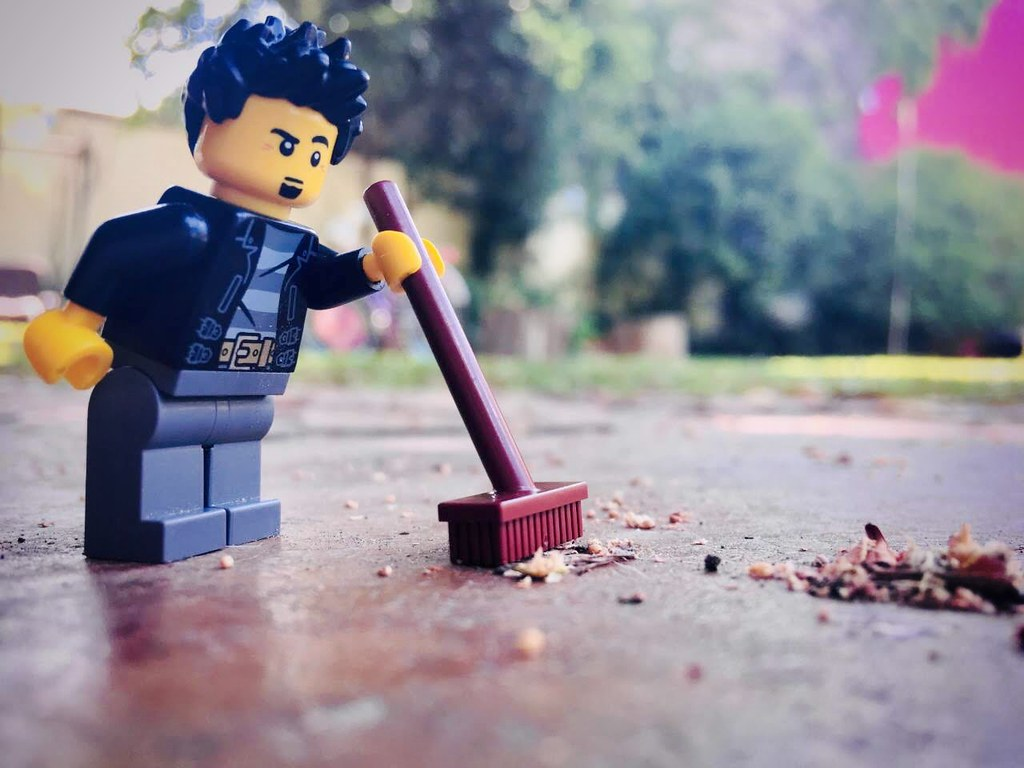 Brick Pic Sweeping