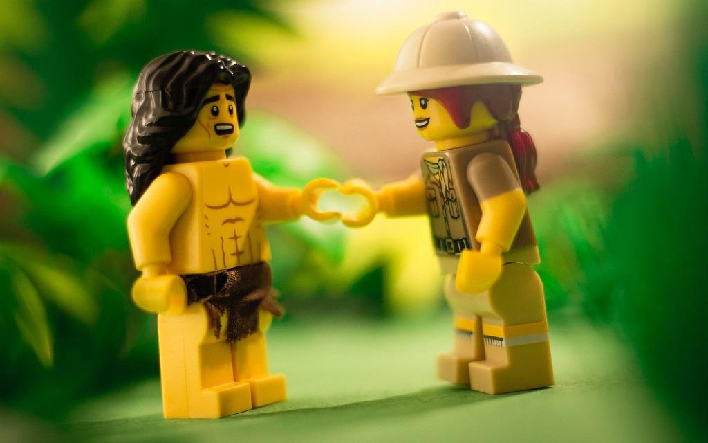 Brick Pic Tarzan