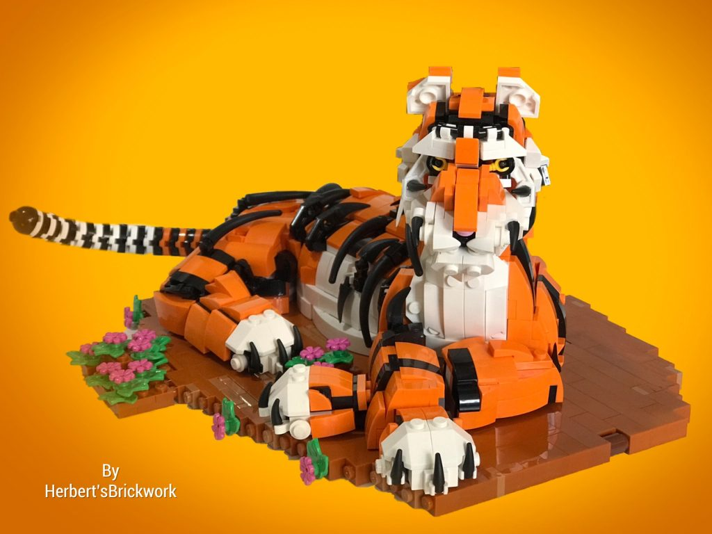 Brick Pic Tiger 1024x768