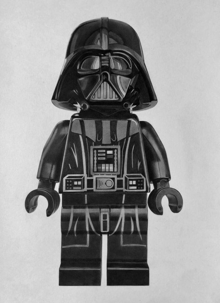 Brick Pic Vader Sketch