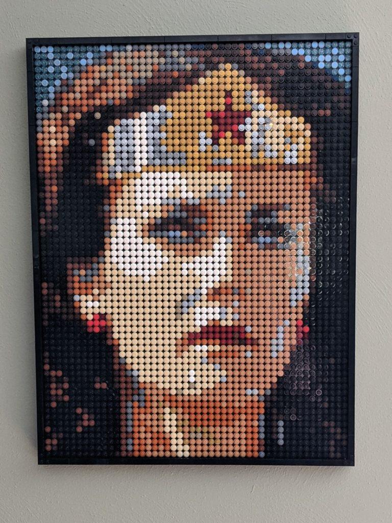Brick Pic Wonder Woman