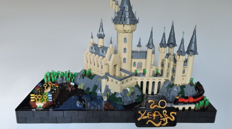 Brick Pic of the Day 20 years of Hogwarts featured