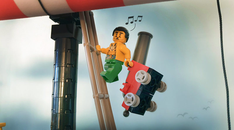 Brick Pic of the Day A Strange Pirates Life featured