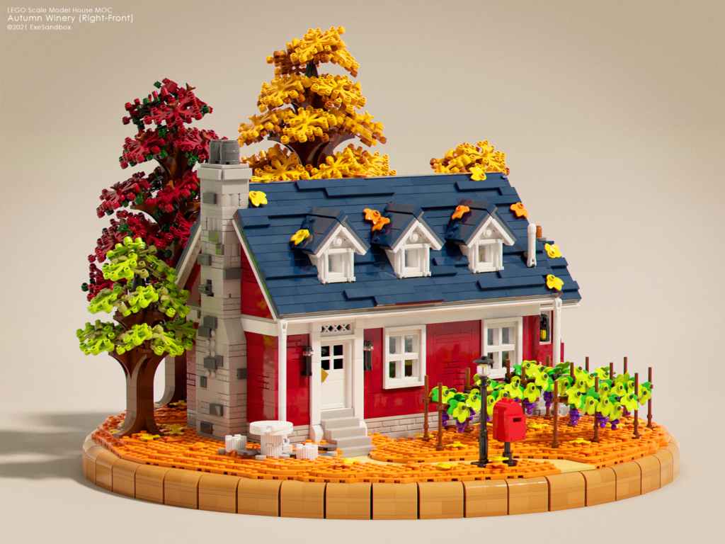 Brick Pic Of The Day Autumn Winery
