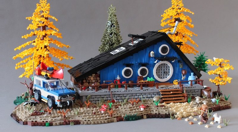 Brick Pic of the Day: The Blue Cottage