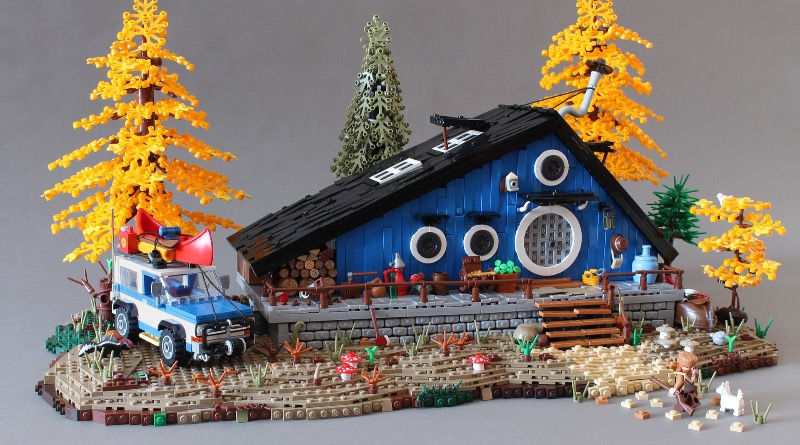 Brick Pic Of The Day Blue Cottage Featured